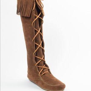 Minnetonka Lace Up Boot